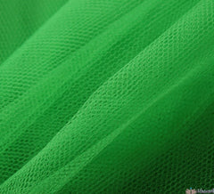 WeaverDee - Dress Net Fabric / 150cm Kelly Green - WeaverDee.com Sewing & Crafts - 1