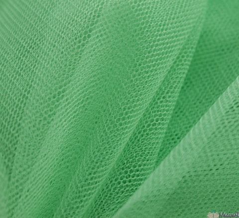 WeaverDee - Dress Net Fabric / 150cm Light Green - WeaverDee.com Sewing & Crafts - 1