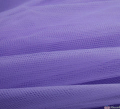 WeaverDee - Dress Net Fabric / 150cm Lilac - WeaverDee.com Sewing & Crafts - 1