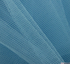WeaverDee - Dress Net Fabric / 150cm Powder Blue - WeaverDee.com Sewing & Crafts - 1