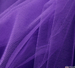 WeaverDee - Dress Net Fabric / 150cm Purple - WeaverDee.com Sewing & Crafts - 1