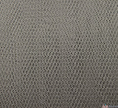 WeaverDee - Dress Net Fabric / 150cm Silver Grey - WeaverDee.com Sewing & Crafts - 1