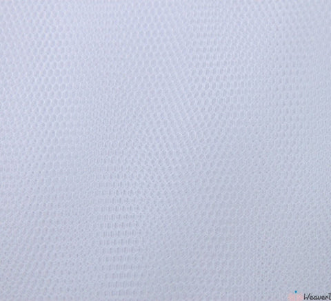 WeaverDee - Dress Net Fabric / 150cm White - WeaverDee.com Sewing & Crafts - 1