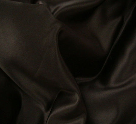 WeaverDee - Duchess Satin Fabric / 150cm / Black - WeaverDee.com Sewing & Crafts