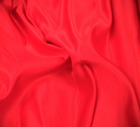 WeaverDee - Duchess Satin Fabric / 150cm / Red - WeaverDee.com Sewing & Crafts