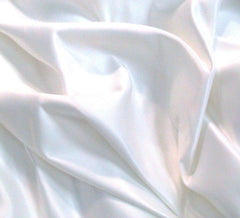 WeaverDee - Duchess Satin Fabric / 150cm / White - WeaverDee.com Sewing & Crafts
