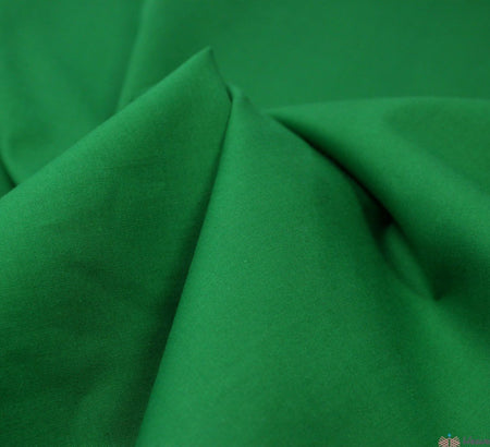 WeaverDee - Poly Cotton Fabric / Emerald - WeaverDee.com Sewing & Crafts - 5