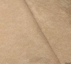 WeaverDee - Faux Suede Fabric / Beige - WeaverDee.com Sewing & Crafts - 1