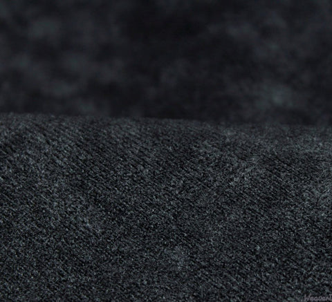 WeaverDee - Faux Suede Fabric / Black - WeaverDee.com Sewing & Crafts - 1