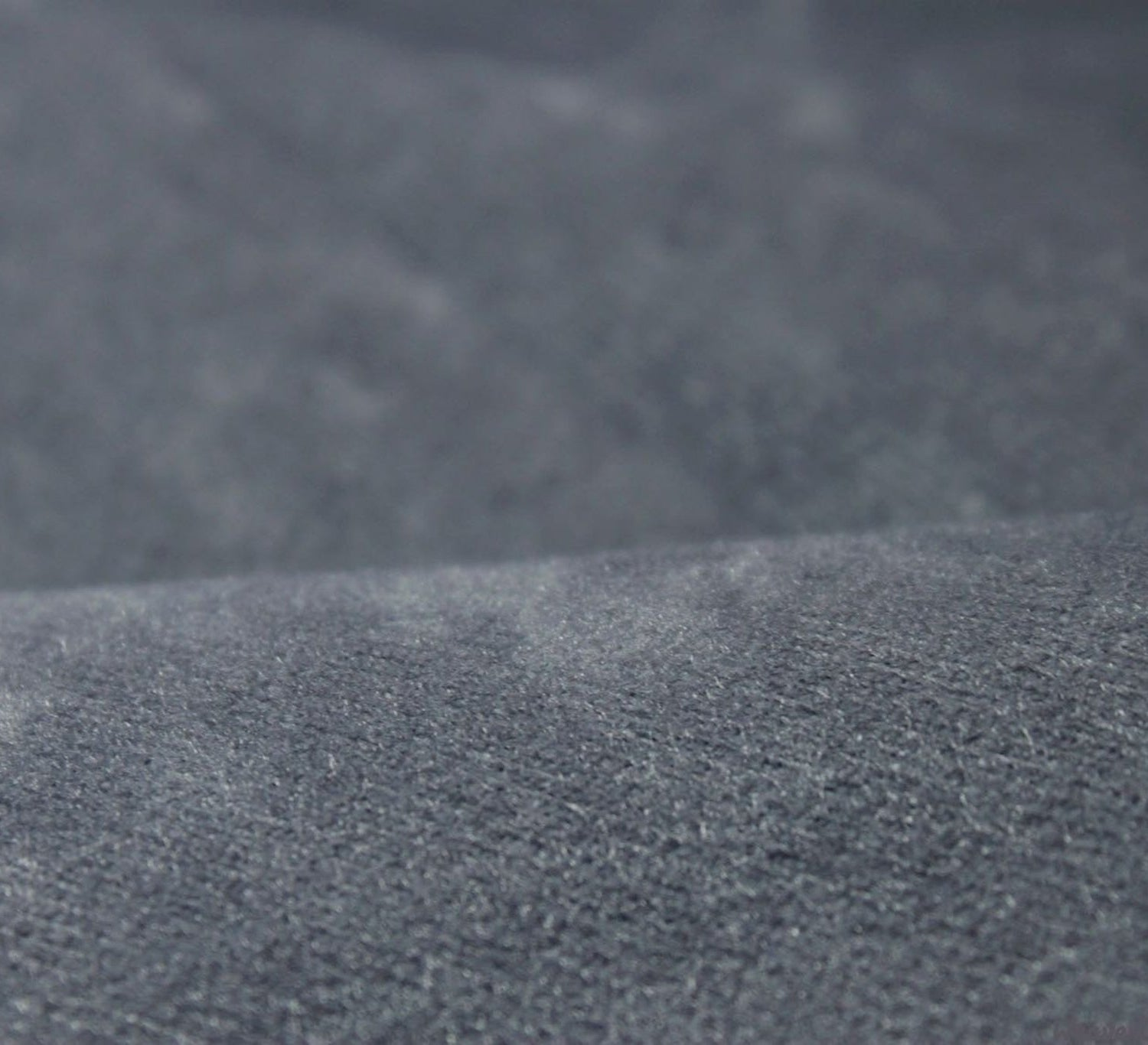 Faux suede fabric dark grey for Suede fabric