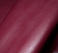 WeaverDee - Leather Look Fabric / Burgundy - WeaverDee.com Sewing & Crafts - 1