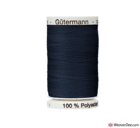 Gütermann Extra Strong Thread (Dark Navy Blue 339) 100m Reel