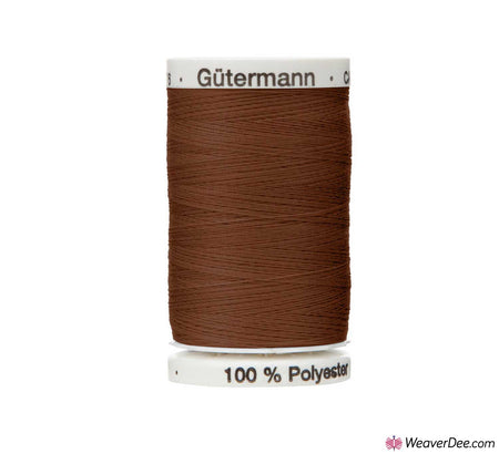 Gütermann Extra Strong Thread (Burnt Umber 650) 100m Reel