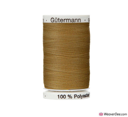Gütermann Extra Strong Thread (Mid Brown 887) 100m Reel
