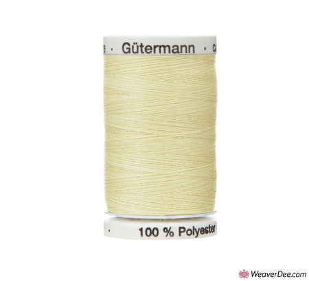 Gütermann Extra Strong Thread (Ecru 169) 100m Reel