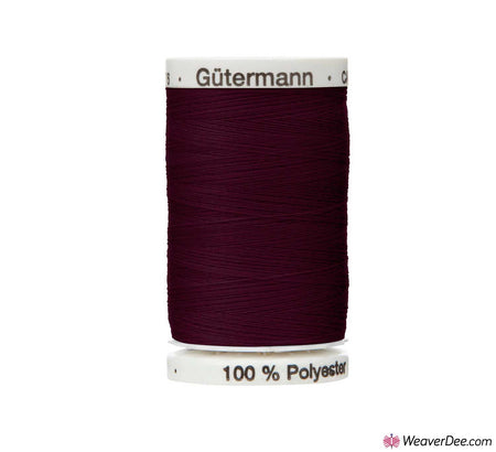 Gütermann Extra Strong Thread (Aubergine 512) 100m Reel