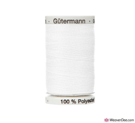 Gütermann Extra Strong Thread (White 800) 100m Reel