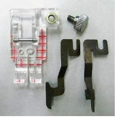 Janome - Janome Clear View Quilting Foot & Guide Set - WeaverDee.com Sewing & Crafts - 1