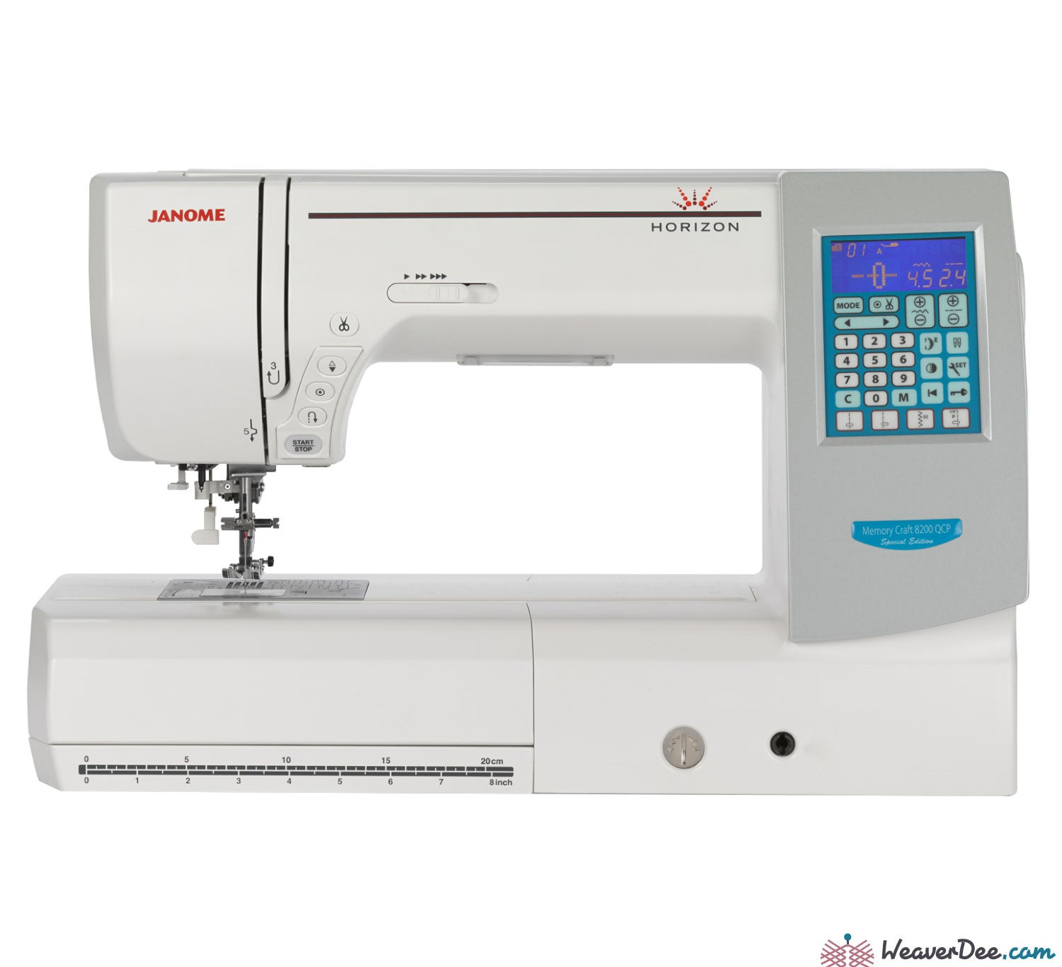 sewing product janome page qvc quilting quilt craft com memory machine