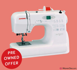 PRE-OWNED OFFER • Janome Jem Platinum 720 Sewing Machine