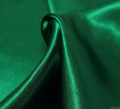 WeaverDee - Liquid Satin Fabric / Emerald Green - WeaverDee.com Sewing & Crafts - 1