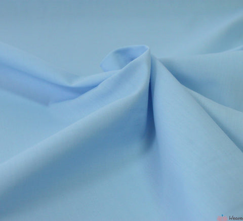 WeaverDee - Poly Cotton Fabric / Light Blue - WeaverDee.com Sewing & Crafts - 2