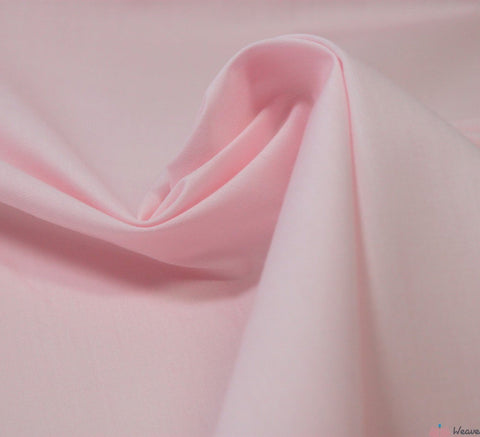 WeaverDee - Poly Cotton Fabric / Light Pink - WeaverDee.com Sewing & Crafts - 5