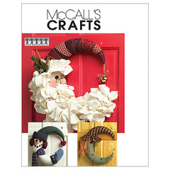 McCall's - M5205 Seasonal Door / Wall Decorations - For Christmas / Halloween - WeaverDee.com Sewing & Crafts - 1