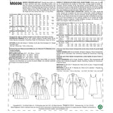 McCall's - M6696 Misses' Shirt Dress & Slip Dress - WeaverDee.com Sewing & Crafts - 9