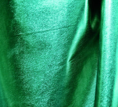 WeaverDee - Metallic Spandex Fabric / 150cm Emerald Green - WeaverDee.com Sewing & Crafts