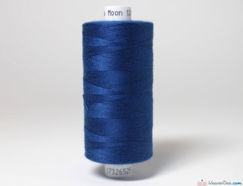 MOON - Moon Overlock Thread [Royal Blue #001] - WeaverDee.com Sewing & Crafts - 1