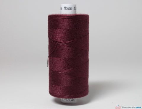 MOON - Moon Overlock Thread [Maroon #35] - WeaverDee.com Sewing & Crafts - 1