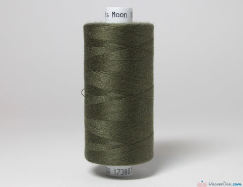 MOON - Moon Overlock Thread [Forest Green #44] - WeaverDee.com Sewing & Crafts - 1
