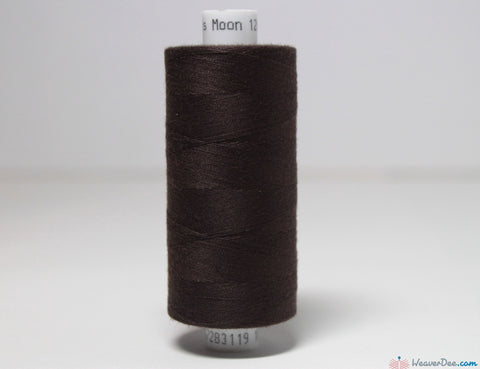MOON - Moon Overlock Thread [Dark Brown #081] - WeaverDee.com Sewing & Crafts - 1