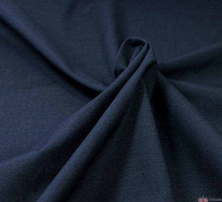 WeaverDee - Poly Cotton Fabric / Navy - WeaverDee.com Sewing & Crafts - 3