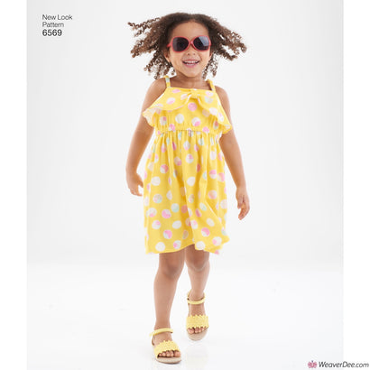New Look Pattern N6569 Child's Sundress