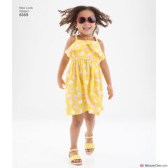 New Look Pattern NL6569 Child's Sundress