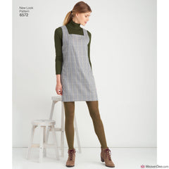 New Look Pattern NL6572 Misses' Jumper Dress