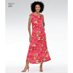New Look - NL6347 Misses Dress | Easy - WeaverDee.com Sewing & Crafts - 1