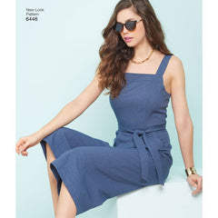 New Look - NL6446 Misses Jumpsuits & Dresses - WeaverDee.com Sewing & Crafts - 1