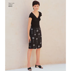 New Look - NL6843 Misses Skirt | Easy - WeaverDee.com Sewing & Crafts - 1