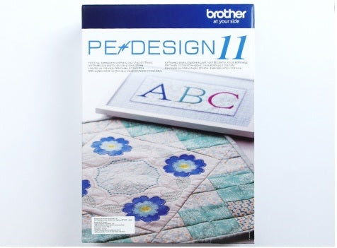 Brother PE-Design 11 Embroidery Software Available Feb.