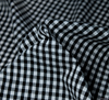 WeaverDee - Poly Cotton Fabric - Black Gingham - WeaverDee.com Sewing & Crafts - 3