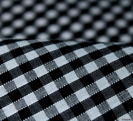 WeaverDee - Poly Cotton Fabric - Black Gingham - WeaverDee.com Sewing & Crafts - 1