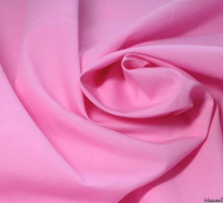 WeaverDee - Poly Cotton Fabric / Candy Pink - WeaverDee.com Sewing & Crafts - 3