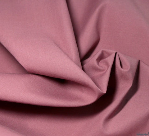 WeaverDee - Poly Cotton Fabric / Dusky Pink - WeaverDee.com Sewing & Crafts - 6