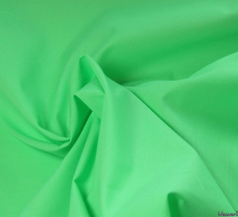 WeaverDee - Poly Cotton Fabric / Lime Green - WeaverDee.com Sewing & Crafts - 1