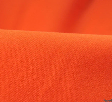 WeaverDee - Poly Cotton Fabric / Tangerine Orange - WeaverDee.com Sewing & Crafts - 1
