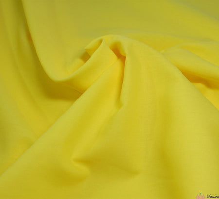 WeaverDee - Poly Cotton Fabric / Yellow - WeaverDee.com Sewing & Crafts - 2
