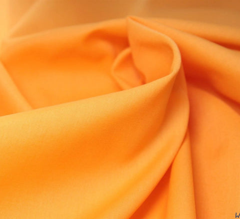 WeaverDee - Poly Cotton Fabric / Orange - WeaverDee.com Sewing & Crafts - 3